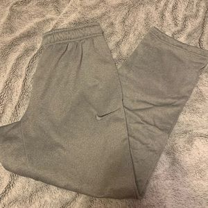 Nike Grey Thermafit Joggers/Sweats